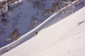 Skier: Shin Ito Photo: Yoshiko Ito
