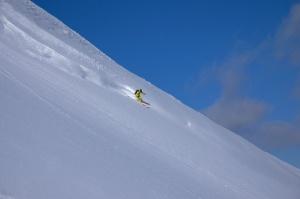 Skier: Shin Itoh Photo: Yoshiko Itoh